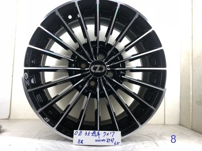OZ鋁圈 35週年,7*17 ,4*100,ET37 17吋鋁圈適用PLOL,VW,MINI,喜美