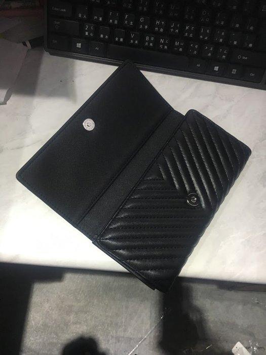 FINDSENSE經典氣墊 真皮 長夾 三折 長夾 多夾層 設計