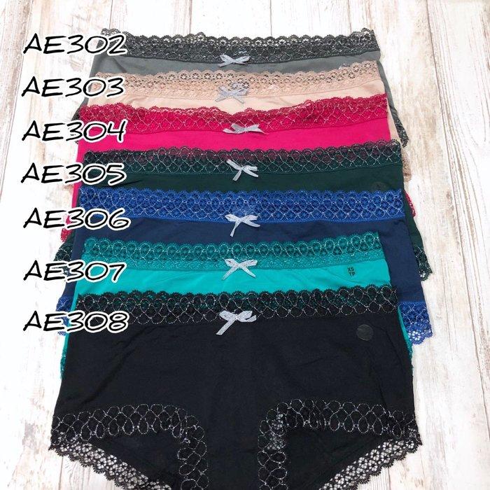 Maple麋鹿小舖 American Eagle * AE  蕾絲低腰小褲褲 * ( 現貨7色 )