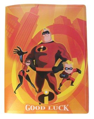【卡漫迷】 超人特攻隊 A4 資料夾 20入 橘 庫1~ The Incredibles 檔案夾 資料袋 文件夾 收納本