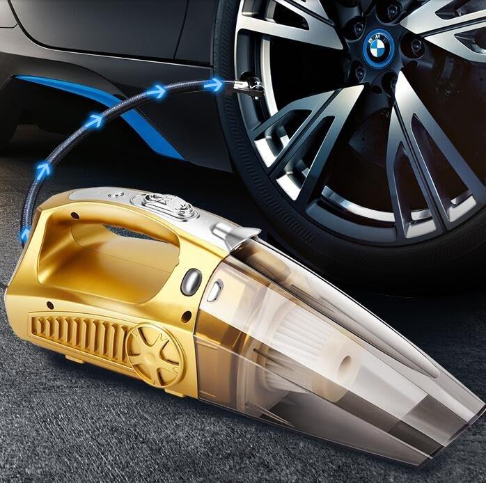 車載吸塵器充氣汽車打氣泵強力專用車內家車兩用小型大功率四合一