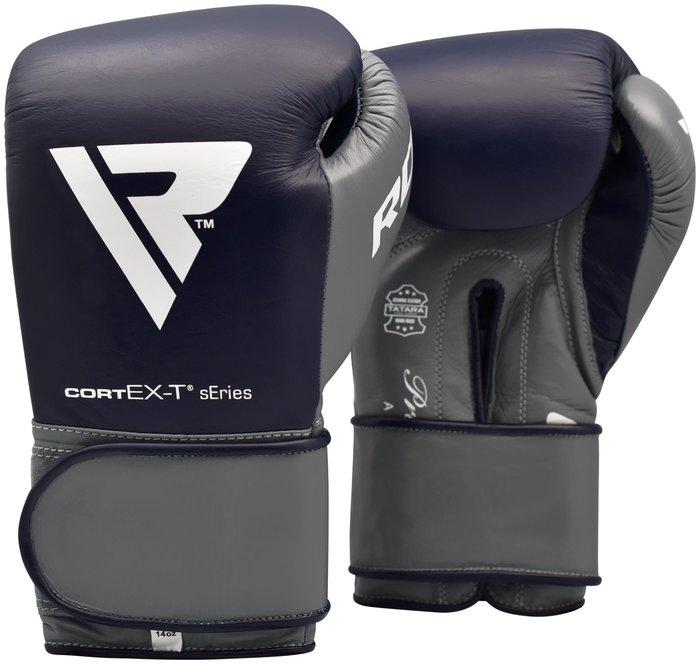 【神拳阿凱】RDX 英國 BGL-PTC4U 拳擊手套 牛皮 灰藍(免運)