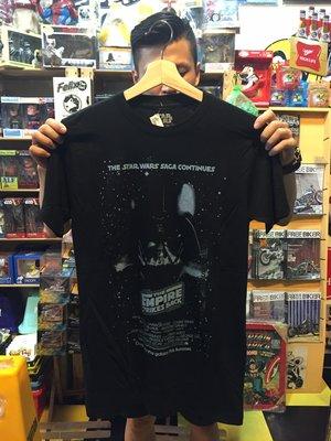(I LOVE樂多) 美國進口 STAR WARS 星際大戰 黑武士 Darth Vader 大圖T桖 短T