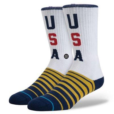 [現貨]NBA籃球襪 MEAD 五顆星星USA 中高筒 美國球員比賽休閒 stance中長襪運動襪
