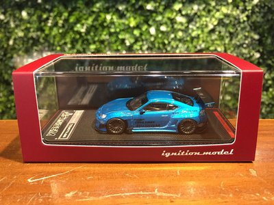1/64 Ignition Model PANDEM Toyota 86 V3 Blue MET IG1751【MGM】