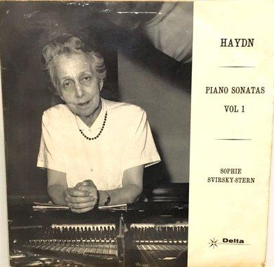 §小宋唱片§英版DELTA/海頓:鋼琴奏鳴曲/SVIRSKY STERN 鋼琴/二手古典黑膠