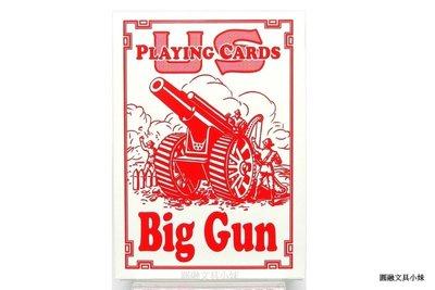 【圓融文具小妹】Bicycle 桌遊 撲克牌 808 BIG GUN red playing cards 紅色