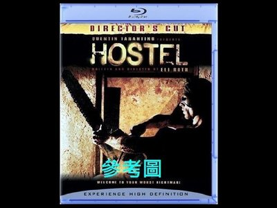 【BD藍光】恐怖旅舍 1:導演版Hostel(中文字幕,TrueHD) 追殺比爾導演