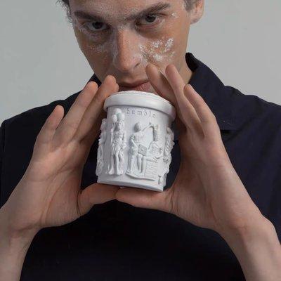 千禧小店@ humble家用天然香薰蠟燭 全手工雕刻小眾香氛趣味雕塑