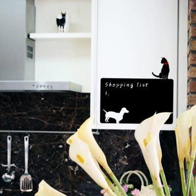 小妮子的家@貓狗黑板貼壁貼/牆貼/玻璃貼/汽車貼/安全帽貼/磁磚貼/家具貼