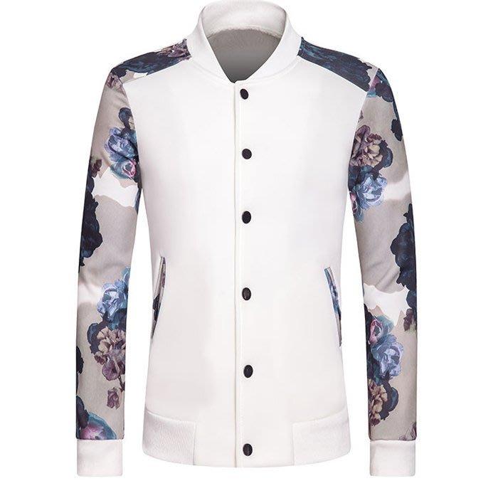 『潮范』 WS07 新款男士夾克衫 舒適太空棉外套 男式棒球服 棉質立領外套 運動服NRB1800
