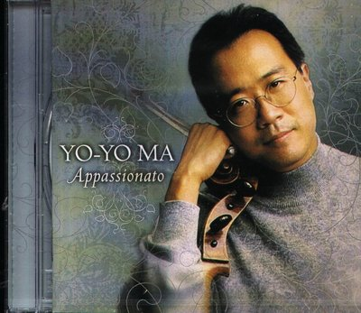 K - Yo-Yo Ma 馬友友 - Appassionato - CD - NEW