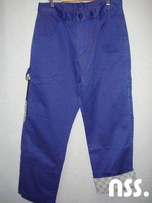 特價「NSS』CLOT DYNASTY CARPENTIER CONSTRUCT PANTS 絲綢拼布 工作褲 冠希 M