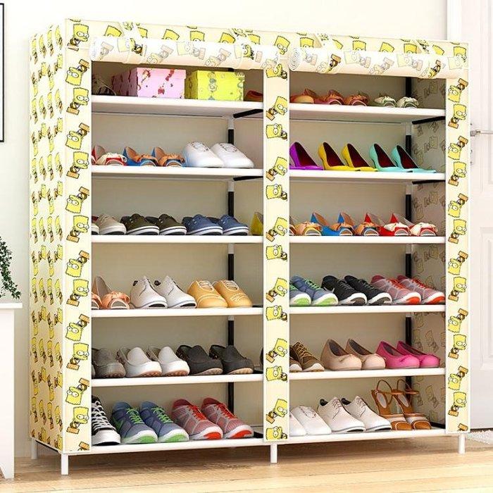鞋架多層簡易家用經濟型省空間組裝宿舍女鞋架子防塵收納櫃鞋櫃YSY