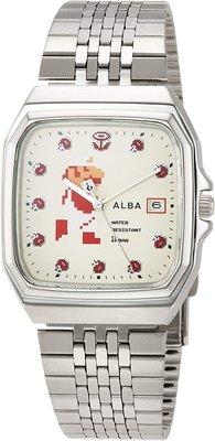 日本正版 SEIKO 精工 ALBA ACCK421 超級瑪利歐 瑪利歐 手錶 日本代購