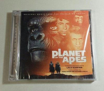 """浩劫餘生 2CD加長版(Planet of the Apes)""- Lalo Schifrin,全新美版,45-1"