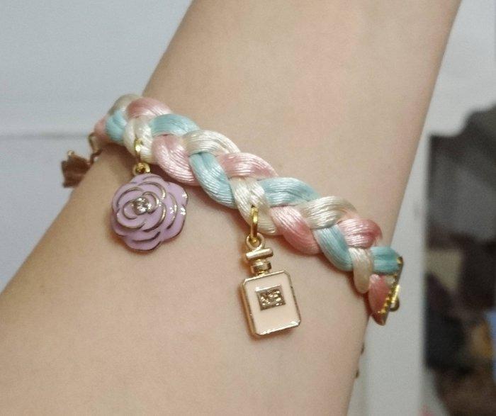 泰國正品(現貨)~手工編織可愛手環