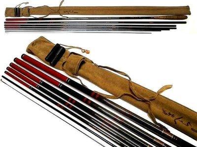 日本製GAMAKATSU がまへら 21尺 並繼鯽魚竿(SHIMANO DAIWA NFT RYOBI)