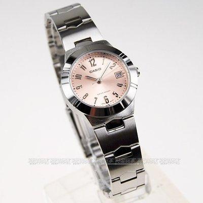 yes99buy加盟-卡西歐女表時尚鋼帶女士石英防水情侶手錶LTP-1241D-4A