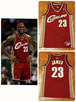(已售出) Lebron James Nike NBA 騎士隊新人年球衣 HWC Rewind SW