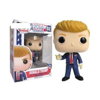 金喜盒Funko POP美國大選2016總統 特朗普 川普模型手辦擺件玩具禮品小玩窩