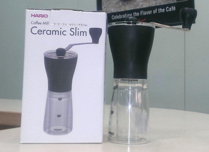 HARIO小型手搖磨豆機- HARIO MSS-1B 日本進口 手搖磨豆機  --良鎂咖啡精品館