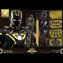 全新未開啡盒Hottoys Marvel HT Neon Tech 2.0 Iron Man Mark VI 6  MMS523D29 夜光 螢光版
