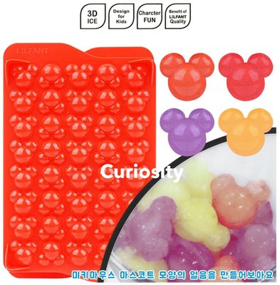 【Curiosity】韓國 LiLFANT Disney迪士尼米奇造型製冰盒冰塊模型-紅色 $350↘$299 新北市