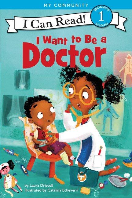 *小貝比的家*ICR: I WANT TO BE A DOCTOR /L1/平裝/3-6歲