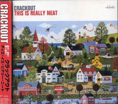 K - CRACKOUT - THIS IS REALLY NEAT -日版 CD+2BONUS - NEW