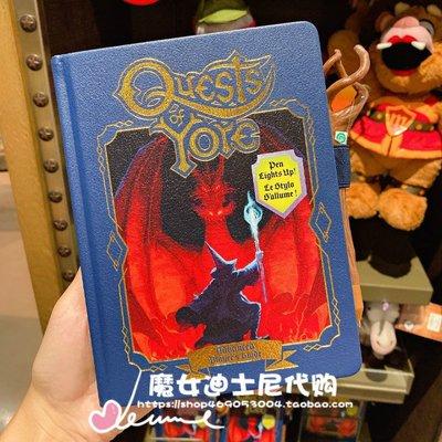 安小落韓國賣場~上海迪士尼樂園代購1/2的魔法Onward皮克斯過去的任務造型日記本