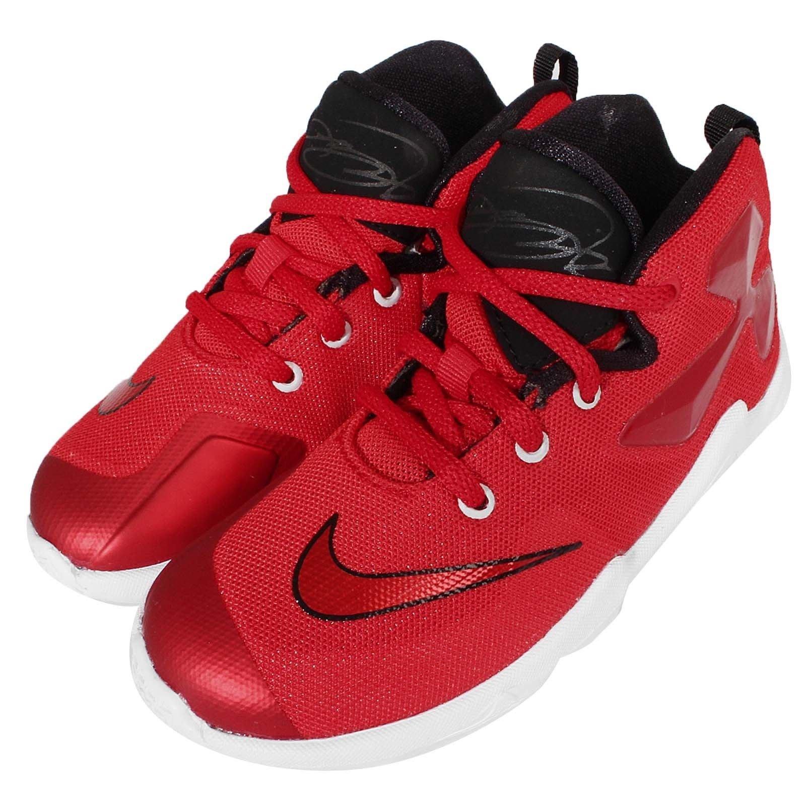 de1cbff094a9 CodE  NIKE LEBRON XIII TD 籃球學步鞋(紅白黑) 808711-610 LBJ 13 小童 ...