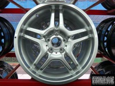 全新鋁圈 正 AMG 18吋 5孔112 前後配 BENZ 賓士 銀 W203.W208.W209.W211.W212