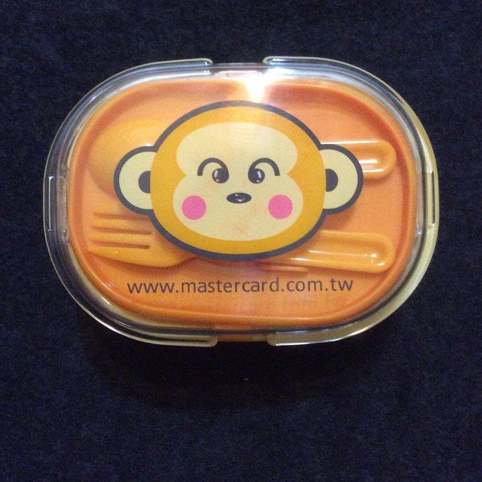 Master可愛小猴雙層便當盒