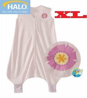 X.H. Baby【美國HALO】SleepSack Early Walker 防踢被 背心 睡袋 春夏針織 粉紅小花