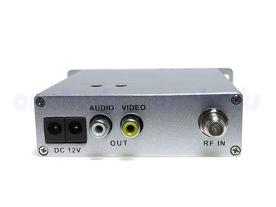 MAV-100DM DeModulator 類比解調變主機 路口監控 解頻道機 選台器里民監視器電眼