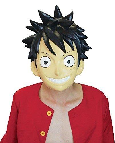 【beibai不錯買】派對道具 變裝 搞笑面具 日本手製 日本進口 海賊王面具 航海王面具 魯夫面具 喬巴面具 索隆面具