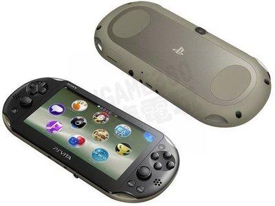 SONY PS Vita PSV PSVITA 2007 主機 台灣公司貨 卡其黑色【台中恐龍電玩】