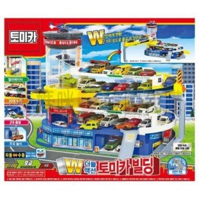 可超取🇰🇷韓國境內版 TOMICA 百變自動停車塔 (不含車) 場景組 立體 變形 停車場 玩具遊戲組