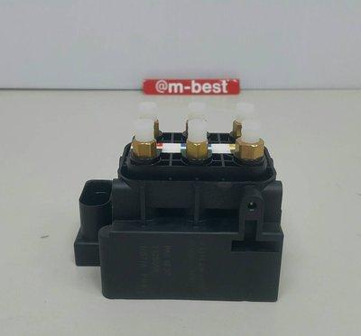 BENZ W166 ML GLE 2012- 避震器泵浦分配器 避震器幫浦分配器 (6孔 電磁閥) 2123200358