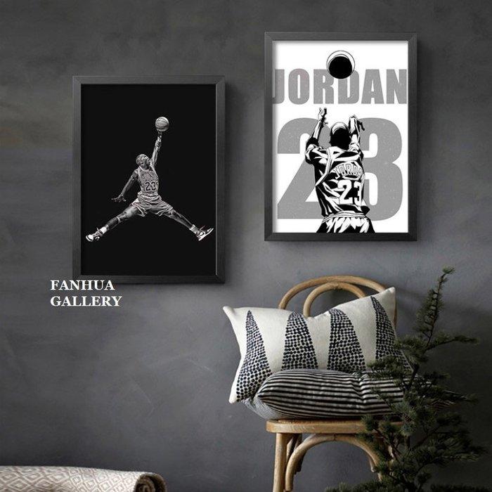 C - R - A - Z - Y - T - O - W - N JORDAN喬丹海報掛畫籃球NBA明星裝飾畫公牛隊版畫宿舍客廳房間收藏畫