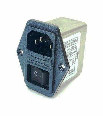 台灣肯尼威正品CANNY WELL CW2B-10A-T三合一插座式電源濾波器EMI FILTER