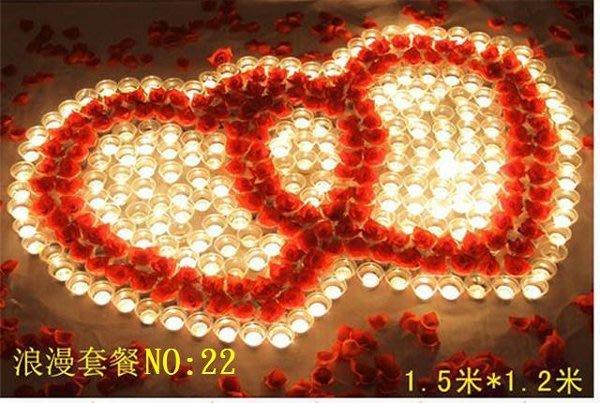 ☆創意小物店☆特價 心型套餐NO:22/排字蠟燭/求婚蠟燭/場地佈置/情人節禮物 浪漫表白必備