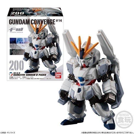 地下尋寶庫:Bandai 剛彈Gundam Converge 盒玩 第14代 全6款  台北車站實體店面