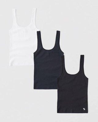A&F女生背心三件組 尺寸XXS-XL (預購)東區正品專賣