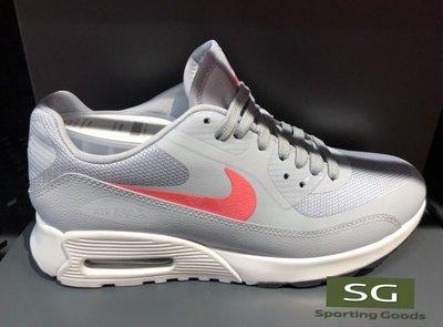S.G NIKE W AIR MAX 90 ULTRA 2.0 灰粉 復古 氣墊 慢跑鞋 女鞋 881106-004