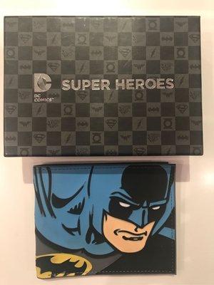 全新原裝 DC COMIC出品BATMAN蝙蝠俠漫畫油彩版男裝銀包