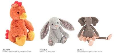[英國Jellycat 團購] JELLYCAT 經典兔子安撫玩偶 31cm,款式眾多,歡迎詢問下單!(03)