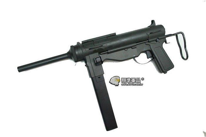 【翔準軍品AOG】Smart Team S&T M3A1 全金屬電動槍 (ST-AEG-11) 黃油槍 / 衝鋒槍 DA