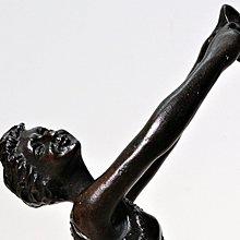 花見小路 199銅雕  喜劇與悲劇舞者 comedy tragedy dancer 寬:9cm 高:23cm
